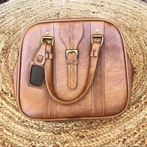 Vintage Western Travel Bag/Purse